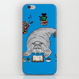Quiet Time iPhone Skin