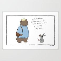 Jason's Mom  Art Print
