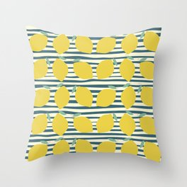 Lemon Sugar Throw Pillow