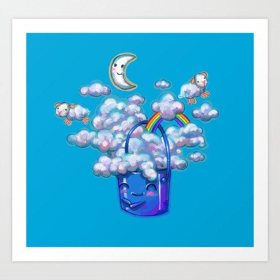 Bucket of Dreams Art Print