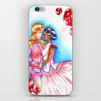 utena iPhone & iPod Skins featuring Manga Utena & Anthy by Purple Alien