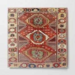 Bergama West Anatolian Village Rug Print Metal Print