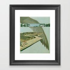 by air (full version) Framed Art Print