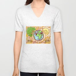Earth is our Home! Unisex V-Neck