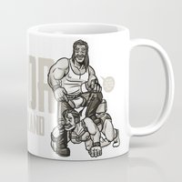 finland Mugs featuring Thor of Finland by Randy Meeks
