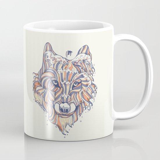 Wave Wolf Mug