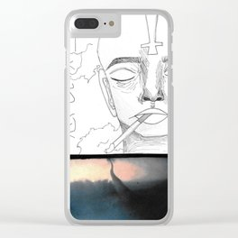 Sad Fumes Clear iPhone Case