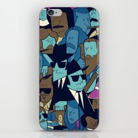 blues brothers iPhone & iPod Skins featuring The Blues Brothers by Ale Giorgini