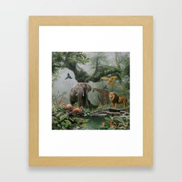 Project Paradise Framed Art Print