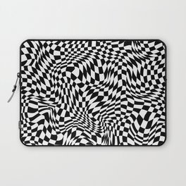 TIME MOVES SLOWLY Laptop Sleeve