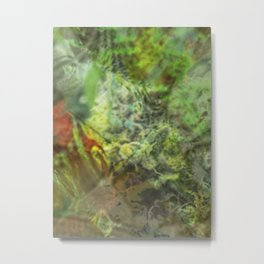 Legalize Cannabis Metal Print