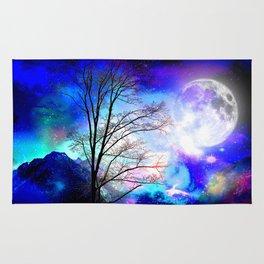under the moon Rug