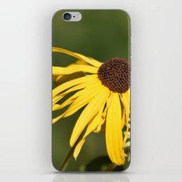 Yellow Whispers iPhone Skin