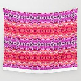 Retro India Lounge Pattern (fiesta peach) Wall Tapestry