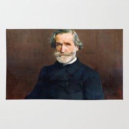Giuseppe Verdi (1813 – 1901) by Giovanni Boldini (1842 - 1931) Rug