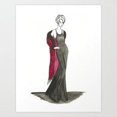 Passionate Women 1 Art Print