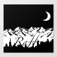 riff raff Canvas Prints featuring Raff Nights by The Raff