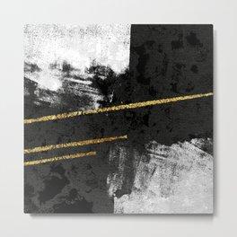 Gilded Grit Metal Print