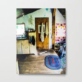 Simple Living Metal Print