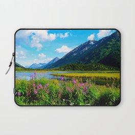 God's Country - Summer in Alaska Laptop Sleeve