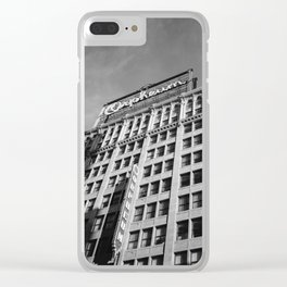 Orpheum Theatre Los Angeles III Clear iPhone Case