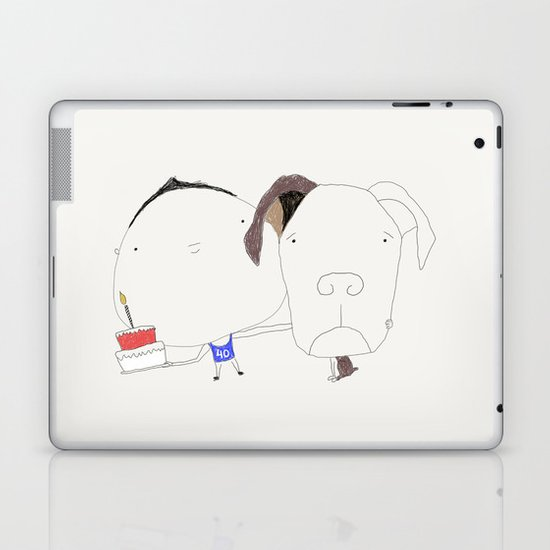 Pet birthday Laptop & iPad Skin