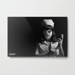 Le Carnaval | One night at the asylum | the nurse  Metal Print