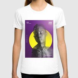 Fashion Purple Pattern 3 T-shirt