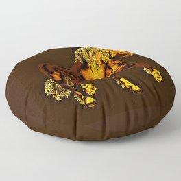 HORSES-Golden Palomino Floor Pillow