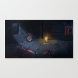 The Midnight Man Canvas Print
