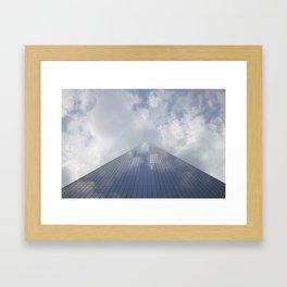 One world trade center Framed Art Print