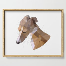 Italian Greyhound Serving Tray