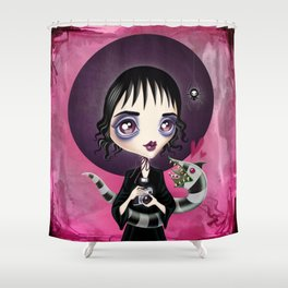 Strange and Unusual Shower Curtain