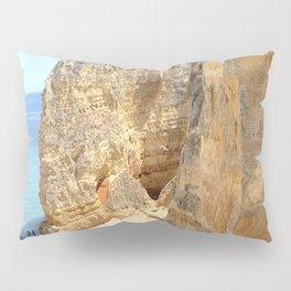 Beach and Cliffs of Lagos Portugal Pillow Sham
