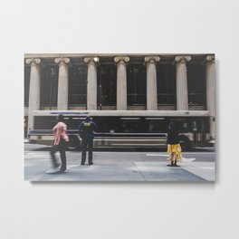 City Blur Metal Print