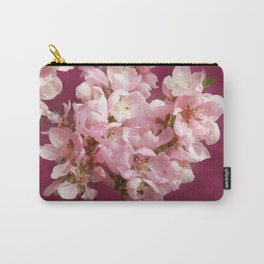 Peachblossom Carry-All Pouch
