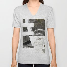 Goka Glitch Unisex V-Neck