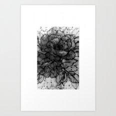 Spinning Roses Art Print