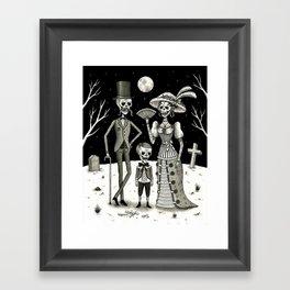 Family Portrait of the Passed Framed Art Print
