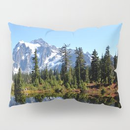 Mount Shuksan on a Sunny Day Pillow Sham