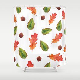 Autumn feelings Shower Curtain