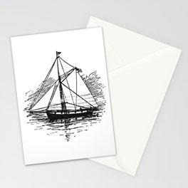 Vintage Boat Stationery Cards