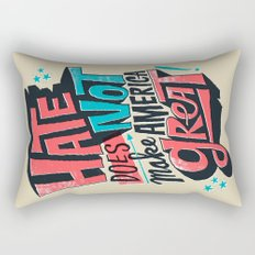 Hate Does Not Make America Great Rectangular Pillow