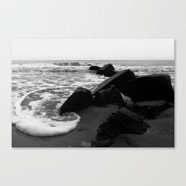 Morning Tide at Folly Beach Canvas Print