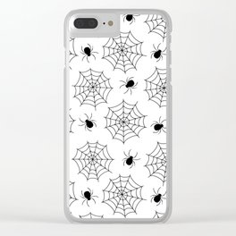 Spderman 02 Clear iPhone Case