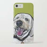 kermit iPhone & iPod Cases featuring Kermit the labradoodle by Pawblo Picasso