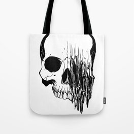Skull (Distortion) Tote Bag