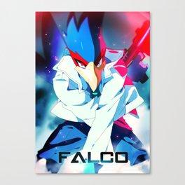 Melee | Falco - Blue Canvas Print