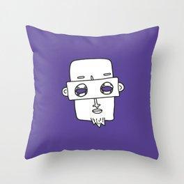 Faces 02 Throw Pillow