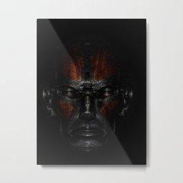 Metalface - 188 Metal Print